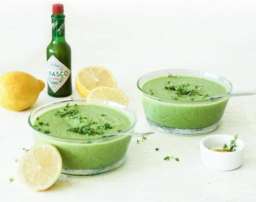 doperwten-komkommersoep www.thelemonkitchen.nl