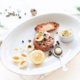 tartare van rugzijde met dragon mayonaise www.thelemonkitchen.nl
