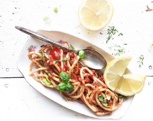 pasta met tonijn met citroen www.thelemonkitchen.nl
