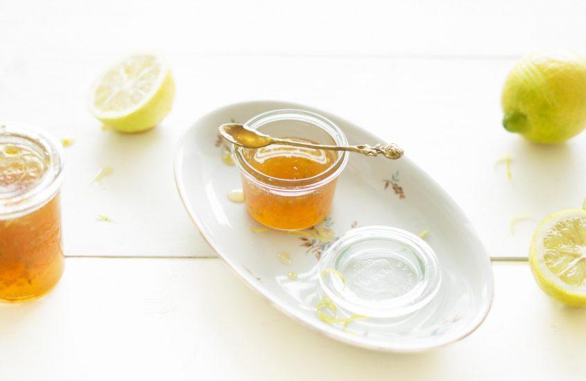 Biologische citroen jam