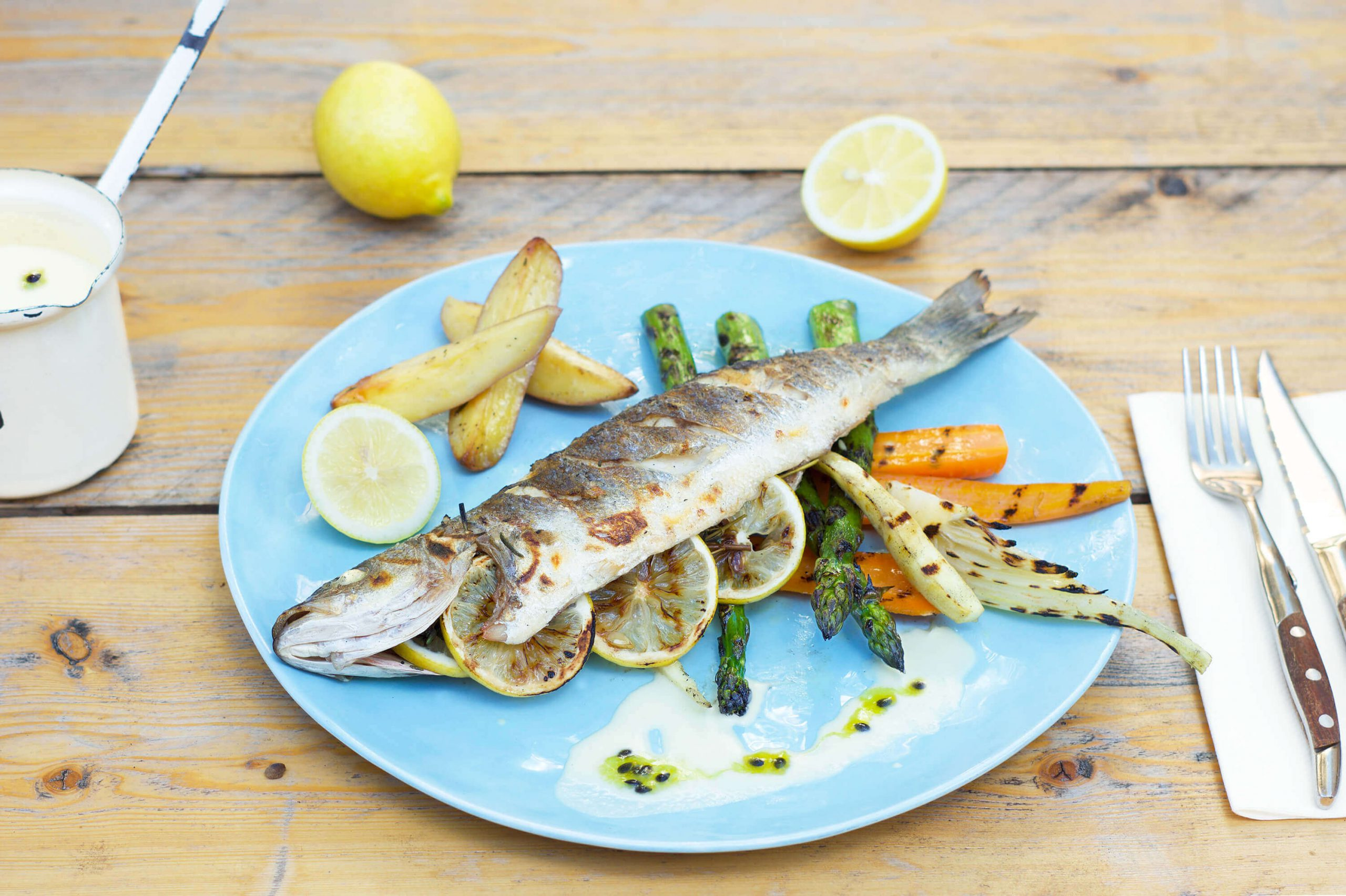 The Lemon Kitchen recept bij Restaurant M'eat Den Bosch