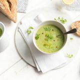 komkommer-avocado soep met citroen The Lemon Kitchen