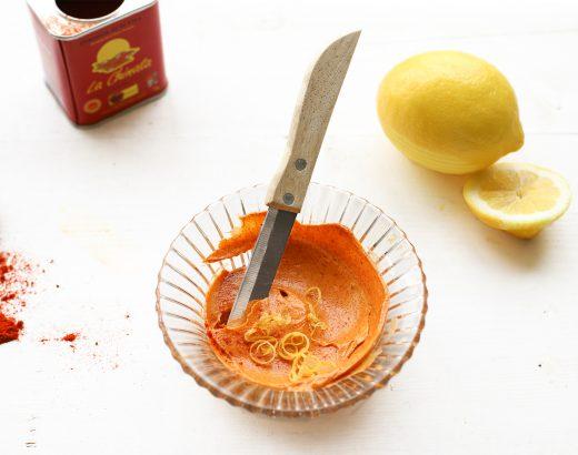 Gerookte paprikaboter met citroen 'Recept The Lemon Kitchen