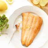 Zalm gemarineerd in Limoncello van de Big Green Egg 'The Lemon Kitchen