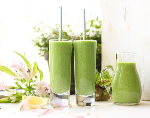 Smoothie met avocado, citroen & Kefir 'Recept The Lemon Kitchen