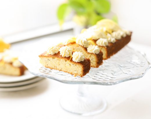 Citroen cake met mascarpone 'The Lemon Kitchen