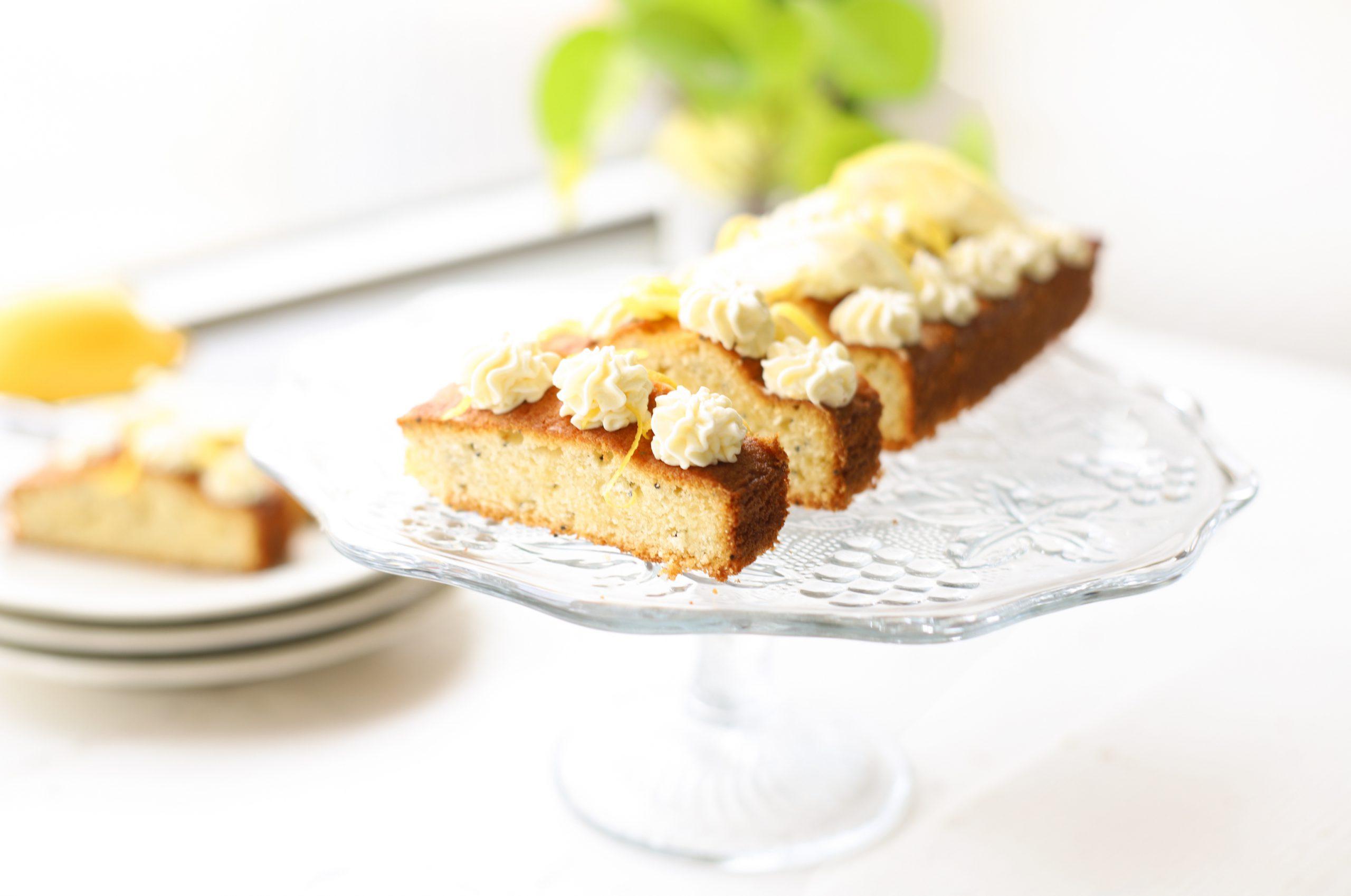 Citroen cake met mascarpone