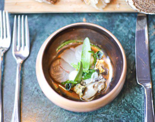 Dineren bij Restaurant Hemingway & overnachten in Hotel de Draak 'The Lemon Kitchen