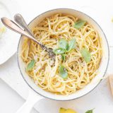 Spaghetti met Parmigiano Reggiano & citroen 'The Lemon Kitchen