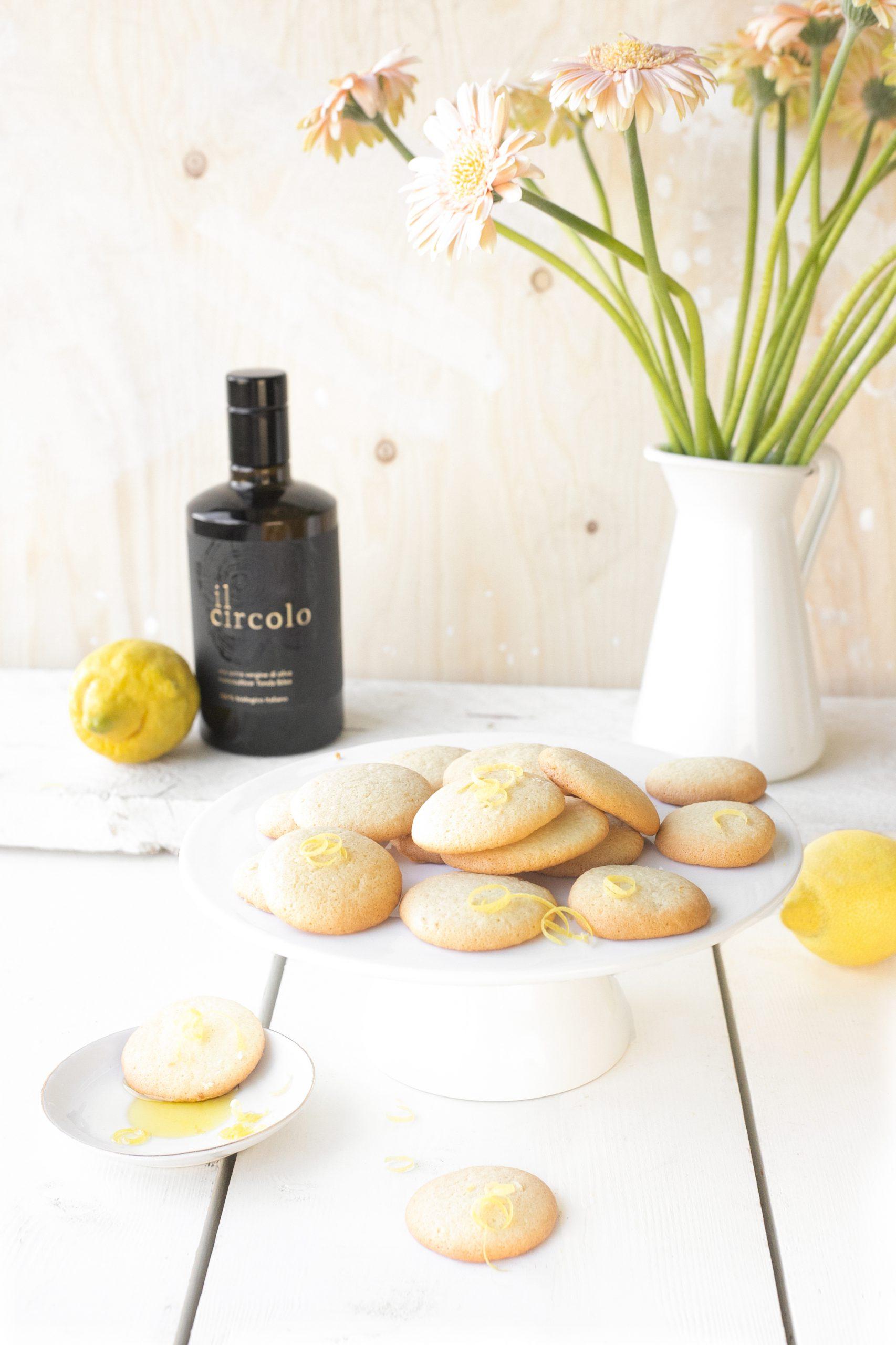 Citroen koekjes met olijfolie 'The Lemon Kitchen