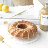 Gember cake met citroen & rum karamel 'The Lemon Kitchen