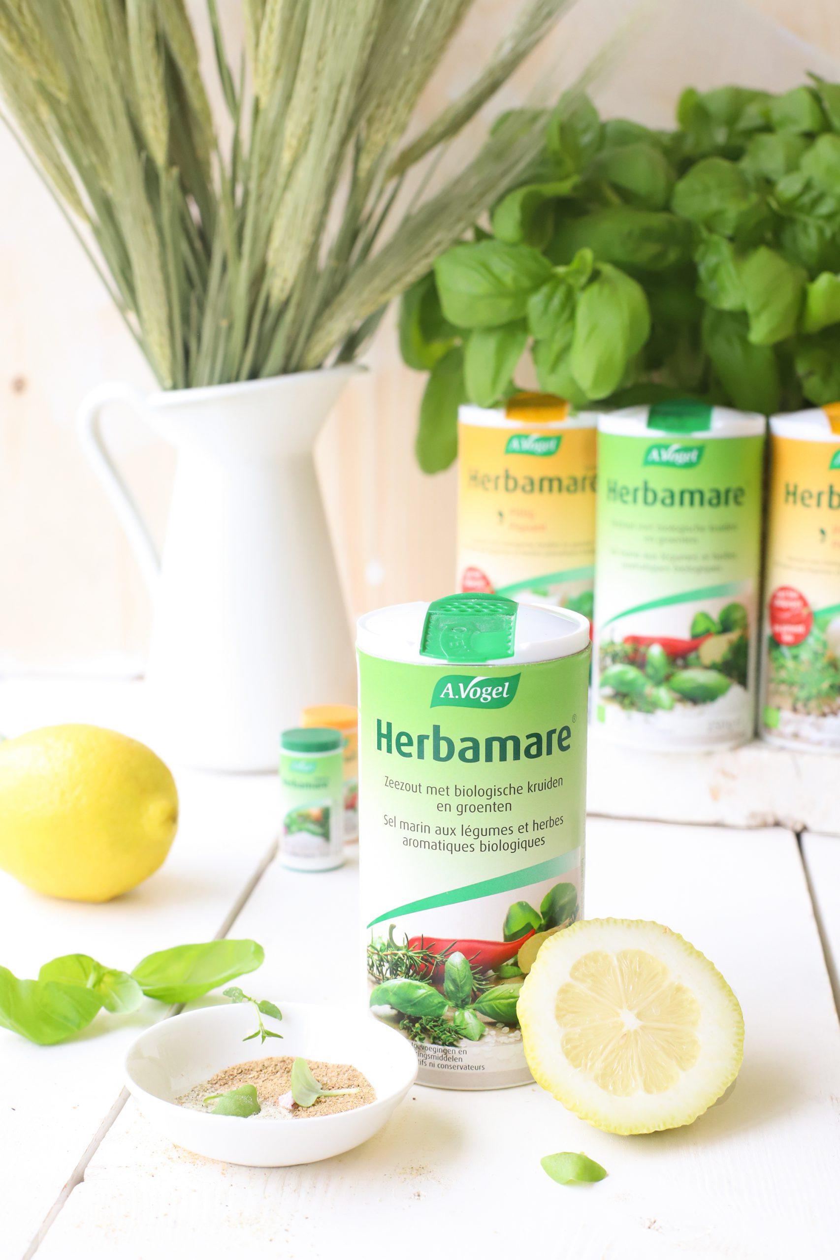 Koken met Biologisch Herbamare Kruidenzout 'The Lemon Kitchen