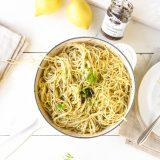 Truffel pasta met room en citroen 'The Lemon Kitchen