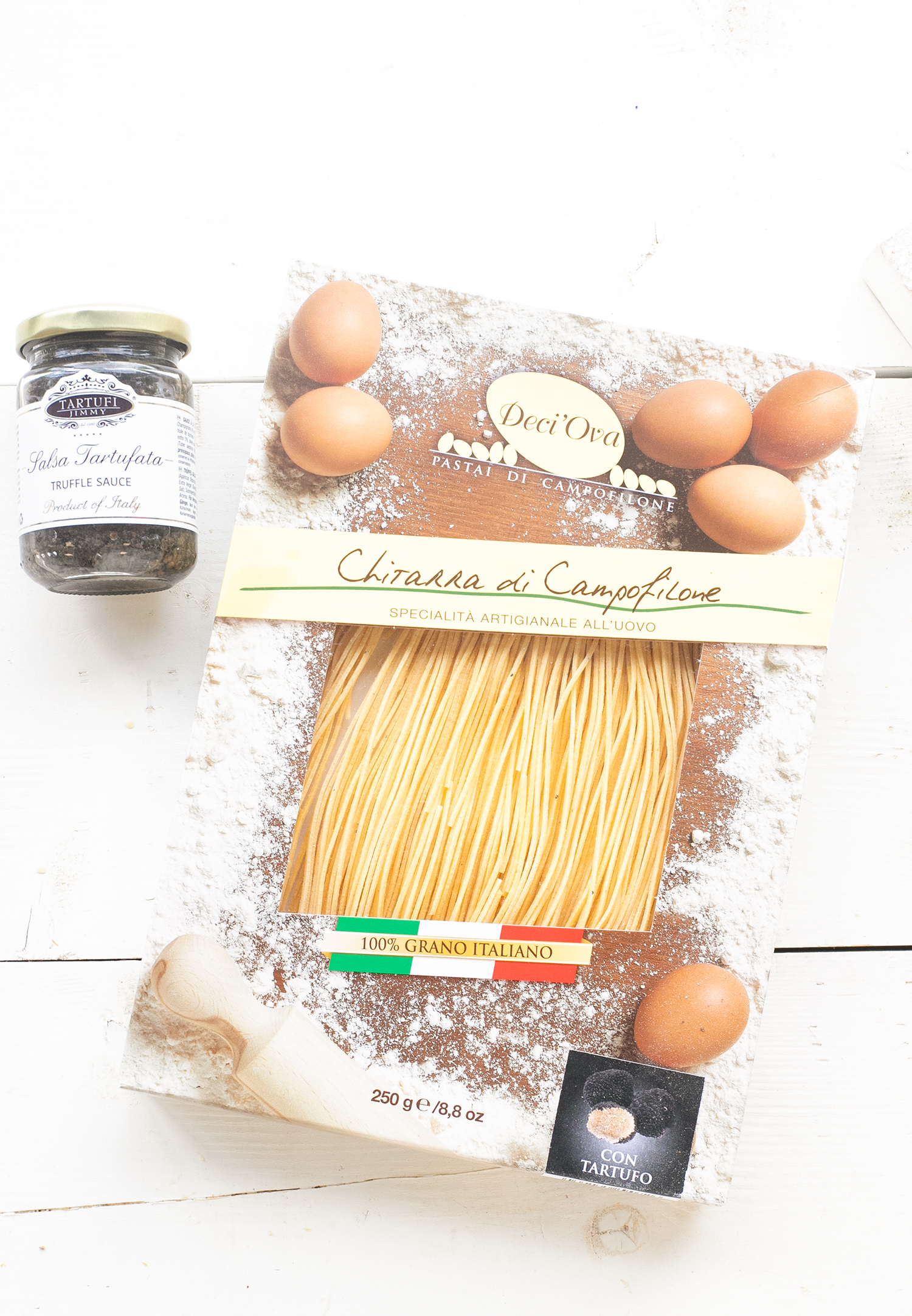 Echte Italiaanse truffel pasta 'The Lemon Kitchen