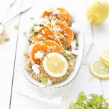 couscous salade met pompoen & geitenkaas