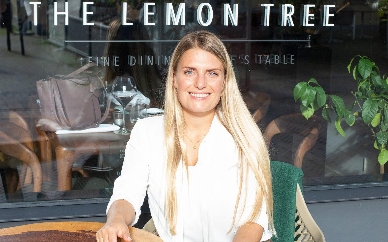 Jadis van the lemon kitchen luncht bij The lemon tree