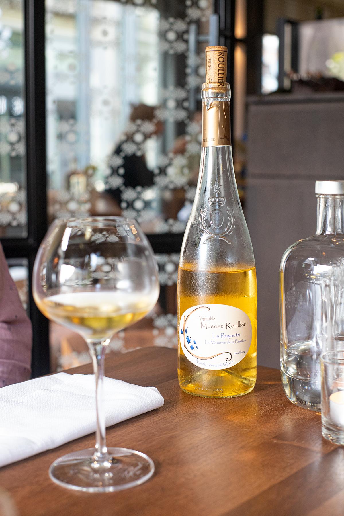 Dessert wijn bij The lemon tree