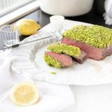 rosbief met citroen & groene kruiden korst 'thelemonkitchen