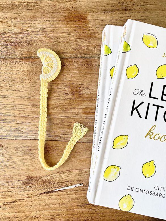 boekenlegger the lemon kitchen kookboek