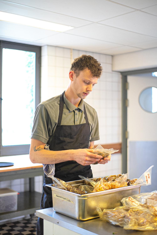chef bij Restaurant deZusters