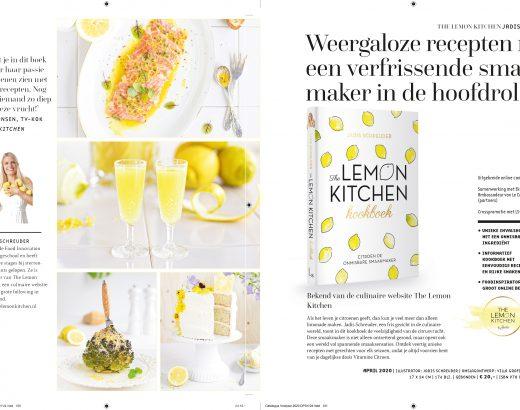 Brochure kookboek the lemon kitchenBrochure kookboek the lemon kitchen