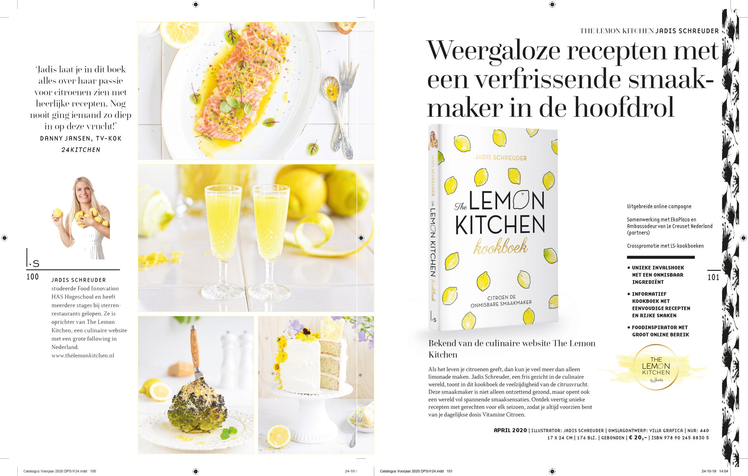 Brochure van mijn uitgeverij LS Amsterdam
