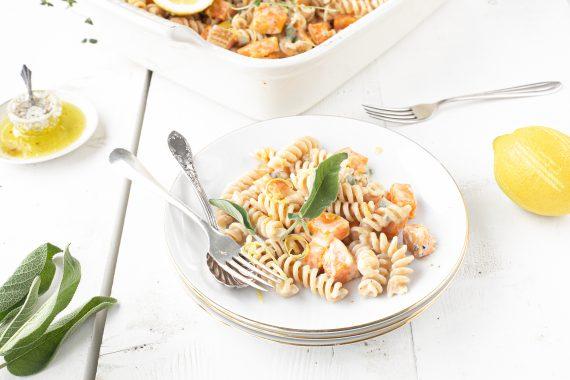 pasta spelt met gorgonzola