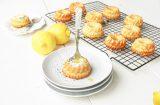 Kwark cakejes met citroen & kokos
