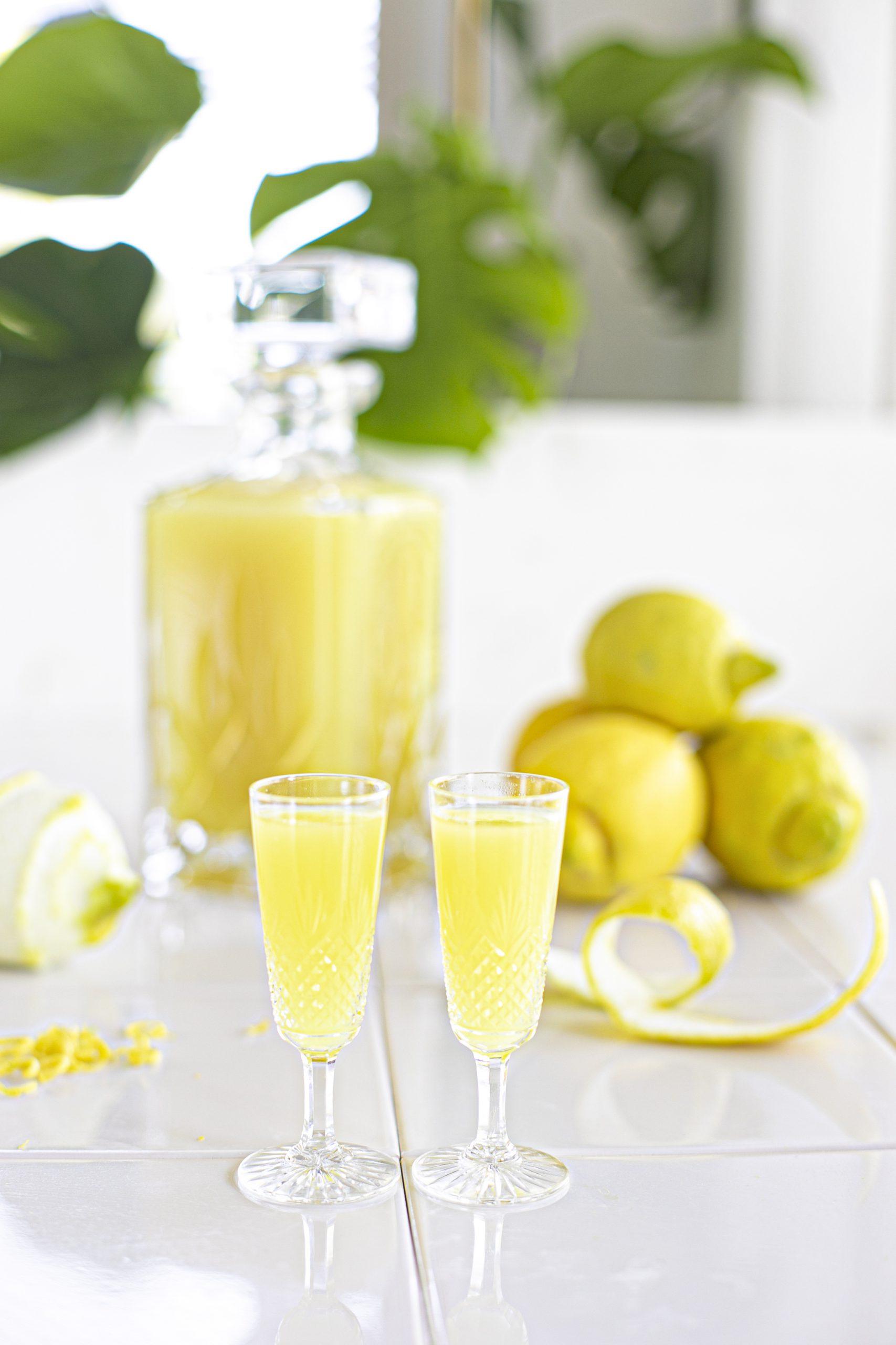 Limoncello Recept met biologische citroen