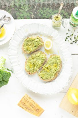 broccoli spread met citroen