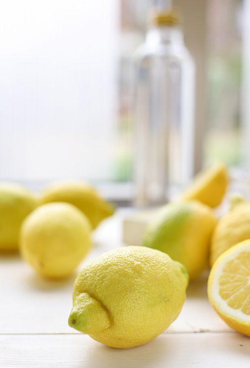 limoncello maken met biologische citroen