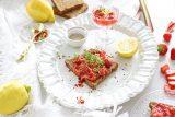 aardbei rabarber spread met citroen en chili