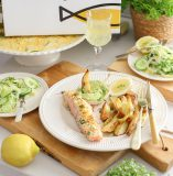 freshly fish box met zalm en kruidenkorst recept